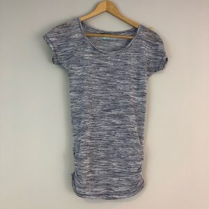 Maurice's top gray marked t xs